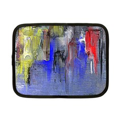Hazy City Abstract Design Netbook Case (small)