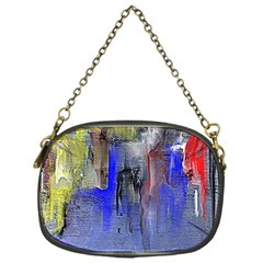 Hazy City Abstract Design Chain Purses (one Side)