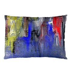 Hazy City Abstract Design Pillow Cases