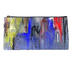 Hazy City Abstract Design Pencil Cases
