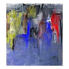 Hazy City Abstract Design Shower Curtain 66  x 72  (Large)