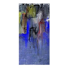 Hazy City Abstract Design Shower Curtain 36  x 72  (Stall)