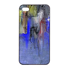 Hazy City Abstract Design Apple iPhone 4/4s Seamless Case (Black)