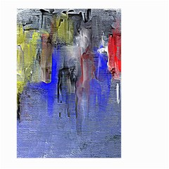 Hazy City Abstract Design Large Garden Flag (two Sides)
