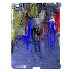 Hazy City Abstract Design Apple Ipad 3/4 Hardshell Case (compatible With Smart Cover)