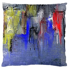 Hazy City Abstract Design Large Cushion Cases (One Side)