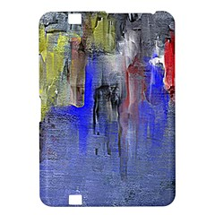 Hazy City Abstract Design Kindle Fire Hd 8 9