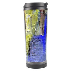 Hazy City Abstract Design Travel Tumblers