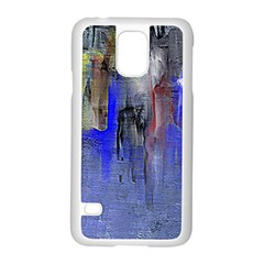 Hazy City Abstract Design Samsung Galaxy S5 Case (White)