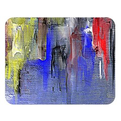 Hazy City Abstract Design Double Sided Flano Blanket (Large)