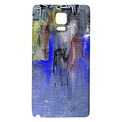 Hazy City Abstract Design Galaxy Note 4 Back Case