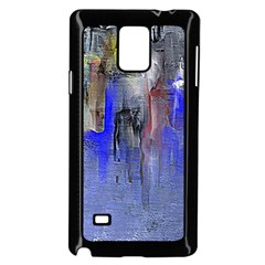 Hazy City Abstract Design Samsung Galaxy Note 4 Case (black)
