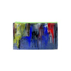 Hazy City Abstract Design Cosmetic Bag (XS)