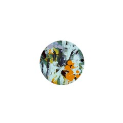 Abstract Country Garden 1  Mini Buttons