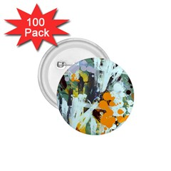 Abstract Country Garden 1 75  Buttons (100 Pack)