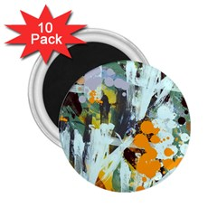 Abstract Country Garden 2.25  Magnets (10 pack)