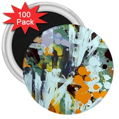Abstract Country Garden 3  Magnets (100 pack)