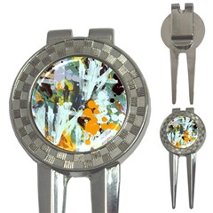 Abstract Country Garden 3 In 1 Golf Divots
