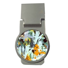 Abstract Country Garden Money Clips (Round)