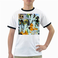 Abstract Country Garden Ringer T-Shirts