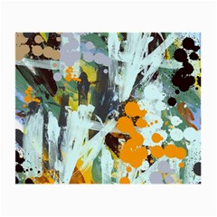 Abstract Country Garden Small Glasses Cloth