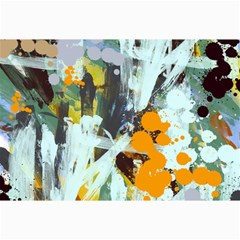 Abstract Country Garden Collage 12  X 18