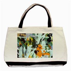 Abstract Country Garden Basic Tote Bag