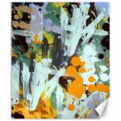 Abstract Country Garden Canvas 8  X 10