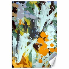 Abstract Country Garden Canvas 24  X 36