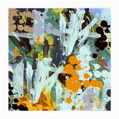 Abstract Country Garden Medium Glasses Cloth (2 Side)