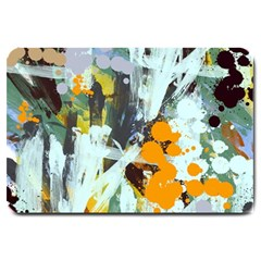 Abstract Country Garden Large Doormat