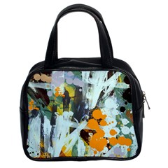 Abstract Country Garden Classic Handbags (2 Sides)