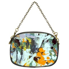 Abstract Country Garden Chain Purses (two Sides)