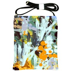 Abstract Country Garden Shoulder Sling Bags