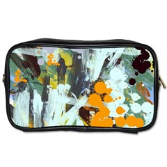 Abstract Country Garden Toiletries Bags