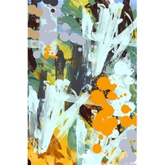 Abstract Country Garden 5.5  x 8.5  Notebooks