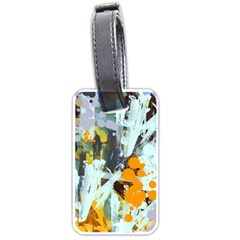 Abstract Country Garden Luggage Tags (One Side)