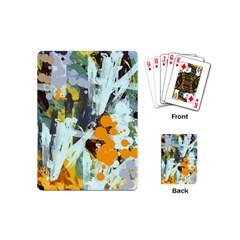 Abstract Country Garden Playing Cards (mini)