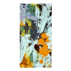 Abstract Country Garden Shower Curtain 36  X 72  (stall)
