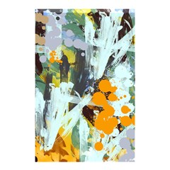 Abstract Country Garden Shower Curtain 48  X 72  (small)