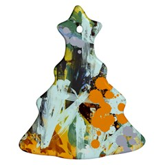 Abstract Country Garden Ornament (christmas Tree)