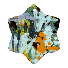 Abstract Country Garden Snowflake Ornament (2-Side)