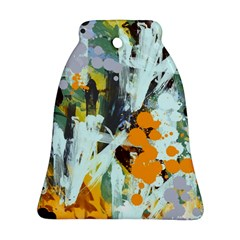 Abstract Country Garden Bell Ornament (2 Sides)
