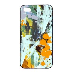 Abstract Country Garden Apple iPhone 4/4s Seamless Case (Black)