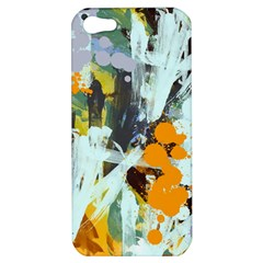 Abstract Country Garden Apple Iphone 5 Hardshell Case