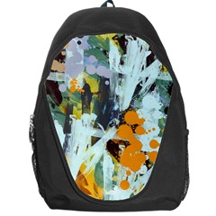Abstract Country Garden Backpack Bag