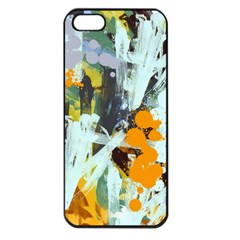 Abstract Country Garden Apple Iphone 5 Seamless Case (black)