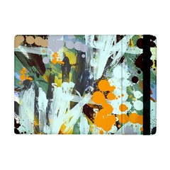 Abstract Country Garden Apple Ipad Mini Flip Case