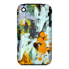 Abstract Country Garden Apple Iphone 3g/3gs Hardshell Case (pc+silicone)