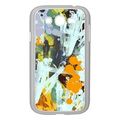 Abstract Country Garden Samsung Galaxy Grand DUOS I9082 Case (White)